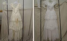 wedding dress restoration photo gallery of vintage wedding gown restorations