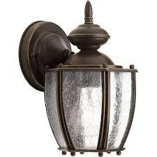 shop progress lighting roman coach 9 87 in h antique bronze