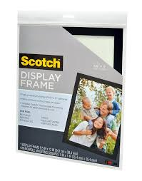 amazon com scotch 8 5 x 11 inches document size display frame 4