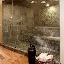Bathroom Tile Shower Ideas Top Cool Shower Floor Tile Designs For Comfortable Bathroom