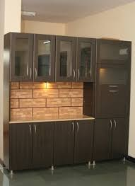 crockery cabinet designs modern crockery cabinet with tall unit attached ab s decor