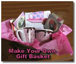 create your own gift basket mothers day gift baskets