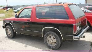 100 chevrolet s10 blazer 1987 chevy s10 blazer 4x4 sold