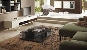 contemporary coffee table glass rectangular square ct 160