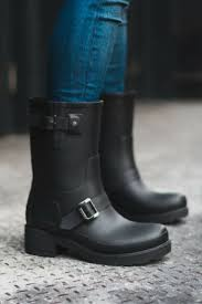 biker style boots 60 best the winter edit images on pinterest hunter boots