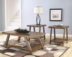Coffee Table Set Coffe Table Mesmerizing Light Brown Rectangle Rustic Wood Coffee