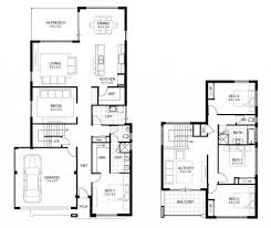 charming floor plans for a four bedroom house including view