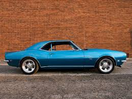blue 68 camaro 1968 chevy camaro ss chevy high performance magazine
