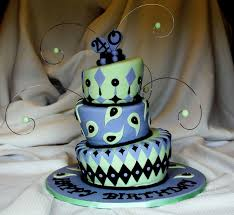 cake decoration ideas for 40th birthday decorating of party