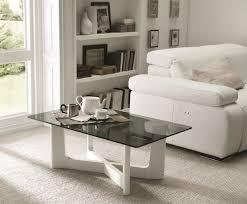 Glass Table For Living Room Glass Side Table Will Set Modern Living Room 2015 Trends