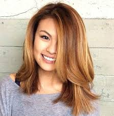 unique medium haircuts with layers and highlights medium