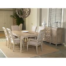 a r t furniture ventura leg dining table weathered chestnut