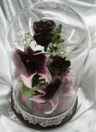 preserve flowers many table top containers to display your preserved wedding flowers