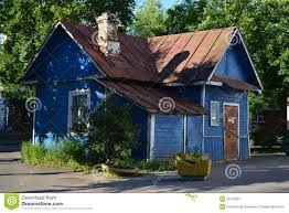 old small country wooden house royalty free stock photography gatchina house leningrad old region small