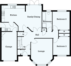 3 bedroom floor plan raith developments lochty