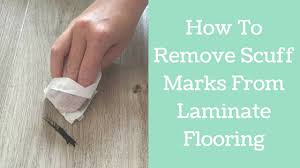 how to remove scuff marks from laminate flooring