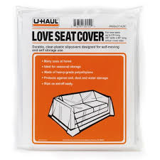 Plastic Sofa Covers For Moving U Haul Love Seat Cover