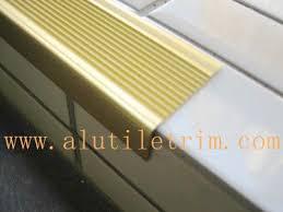 aluminum stair nosing tile trim provider