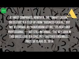what is smart business dress code youtube
