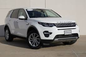 discovery land rover 2016 white new and used white land rover discovery sports for sale in texas
