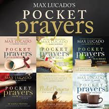 review and a giveaway pocket prayers by max lucado reading