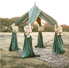 wedding backdrop altar outdoor weddings alternative altars
