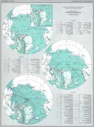 Arctic Map Of The Usa Arctic Expeditions 1850 1968