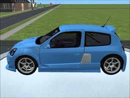 clio renault 2003 sims 2 car conversion by vovillia corp 2003 renault clio v6