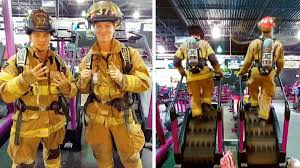 Firefighters Stair Climb by 2 Montco Firefighters Honor 9 11 Heroes With Stair Climb