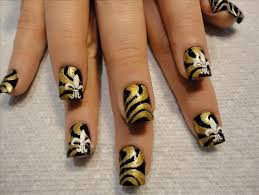 new orleans saints nail designs saints nail designs nails