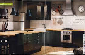 Black And White Kitchen Cabinets Luxury Furniture Ideas Engaging - Ikea black kitchen cabinets