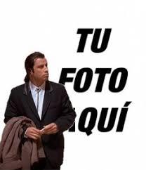 Crear Un Meme Online - meme online de john travolta confundido para poner tu imagen de