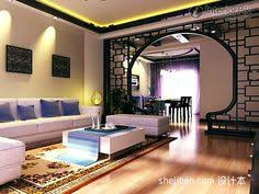 Traditional Chinese Interiors  Living Room Wooden Furniture - Chinese living room design
