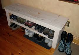diy shoe rack bench pictures
