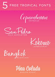 design templates fonts free tattoo fonts tropical free fonts blog fonts and blog