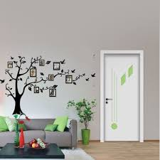 family tree wall decal sticker fancy vinyl photo picture frame useage wall sticker