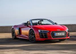 Audi R8 2017 - new 2017 audi r8 v10 spyder arrives in the us from 175 100