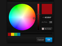 color selection color picker by fred yates dribbble
