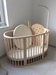 Stokke Mini Crib Stokke Sleepi Stokke Mini Cot White Transparent Whitewash Ebay