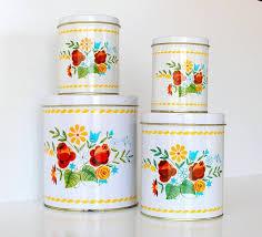 vintage kitchen canisters sets 148 best vintage kitchen canisters tins images on