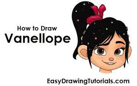 draw vanellope