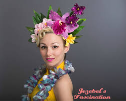 floral headpiece jezebel s fascination