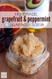 5 Natural Diy Recipes For by Best 25 Grapefruit Scrub Recipe Ideas On Pinterest