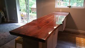 Bar Top Pictures by Handmade Custom 11 Foot Long Live Edge Walnut Bar Top By Teraprom