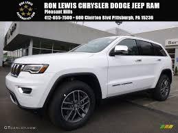 jeep grand cherokee limited 2017 white 2017 bright white jeep grand cherokee overland 4x4 116117038