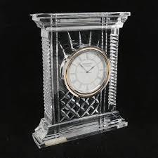 waterford crystal l base waterford crystal atrium clock ebth