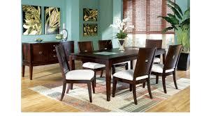 spiga mocha 5 pc rectangle dining room contemporary