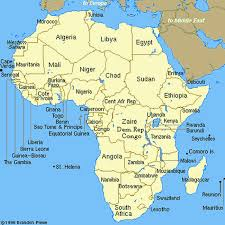 map of africa with country names map of africa including all country names a global history of