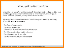 9 police officer cover letters address example