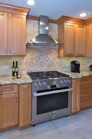 lambertville kitchen with starmark cabinetry niece lumber